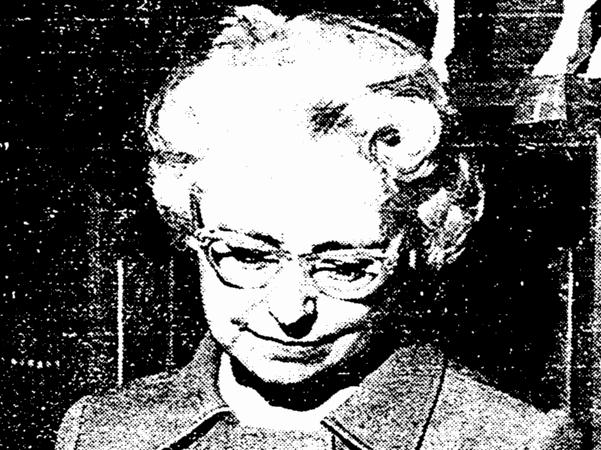 Photo: San Diego librarian Clara Breed. Credit: San Diego Union (San Diego, California), 25 May 1970, page 13.