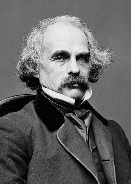 Photo: Nathaniel Hawthorne, c. 1860-1864