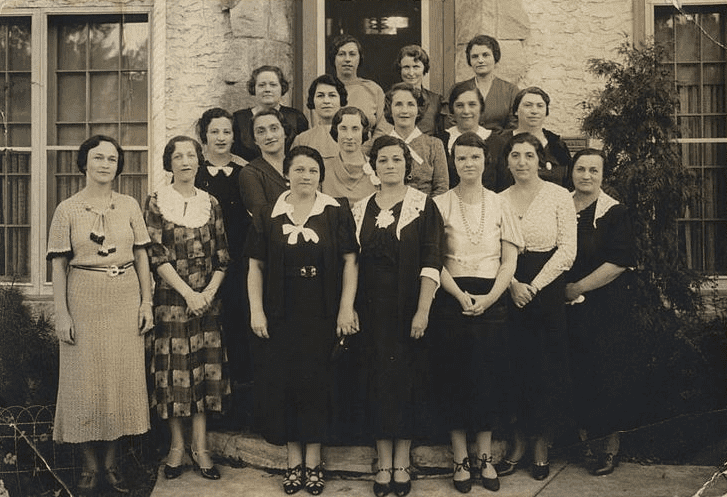 Photo: the Minneapolis Chapter of the National Council of Jewish Women, c. 1930