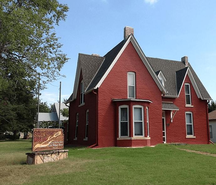 Photo: home of Susanna M. Salter in Argonia, Kansas