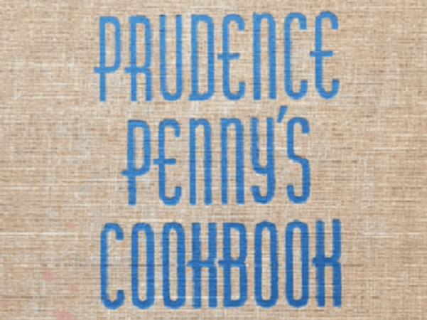 "Photo: cover of ""Prudence Penny's Cookbook,"" 1939"