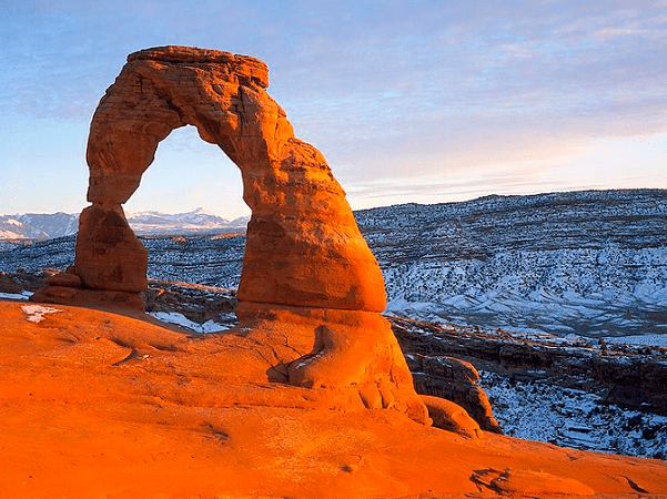 Photo: Delicate Arch, Arches National Park, Utah. Credit: U.S. National Park Service; Wikimedia Commons.