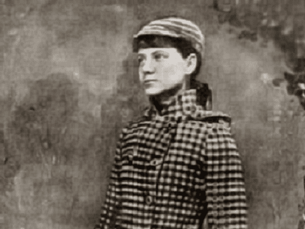 Photo: American journalist Nellie Bly, in a publicity photo for her around-the-world voyage, 1890. Credit: New York Public Library Archives; Wikimedia Commons.