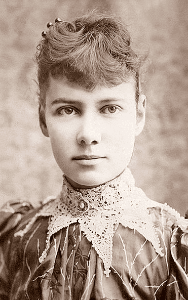 Photo: Nellie Bly (pseudonym of Elizabeth Cochrane Seaman), c. 1890