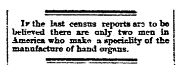 An article about the 1870 U.S. Census, San Diego Union newspaper article 21 July 1874