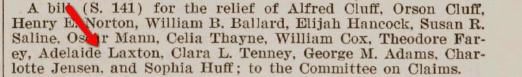 Senate Bill 141 from 1913, Serial Set Vol. No.6508
