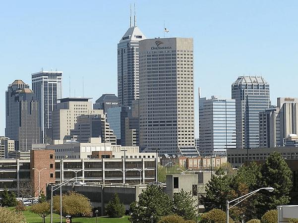 Photo: Indianapolis, Indiana. Credit: Jasssmit; Wikimedia Commons.