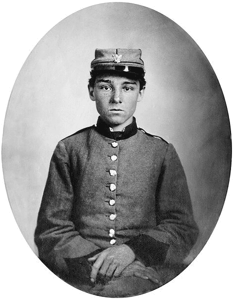 Photo: portrait of Pvt. Edwin Francis Jemison, 2nd Louisiana Infantry Regiment