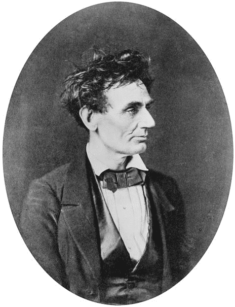 Photo: Abraham Lincoln, 28 February 1857