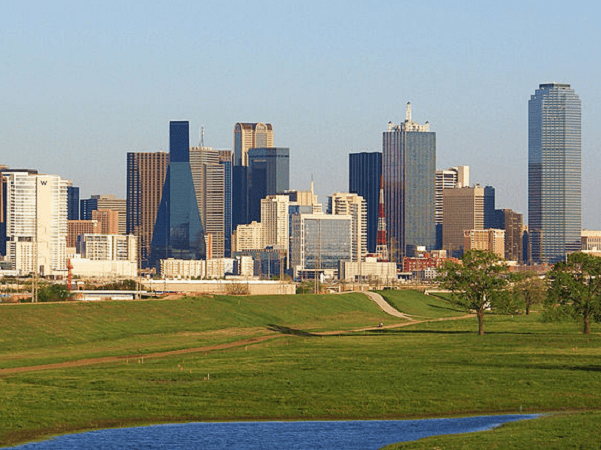 Photo: Dallas, Texas. Credit: nthomas76207; Wikimedia Commons.