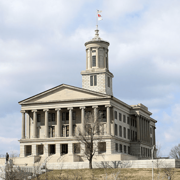 Photo: Tennessee State Capitol in Nashville, Tennessee