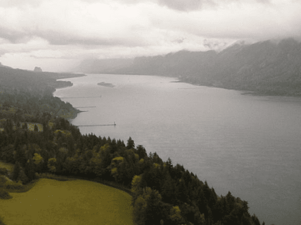 Photo: the Columbia River Gorge, view from Cape Horn, Washington. Credit: Anastacia12182; Wikimedia Commons.