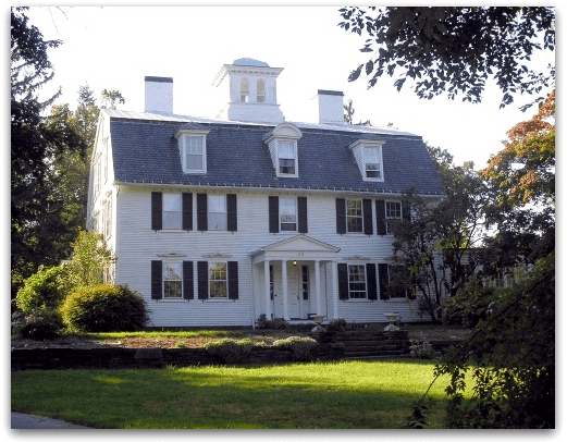 Photo: the house where Esther Stoddard once lived