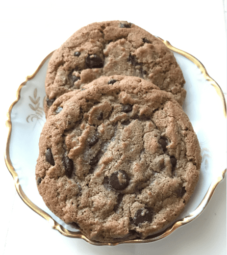 Photo: chocolate chip cookies by Gena Philibert-Ortega