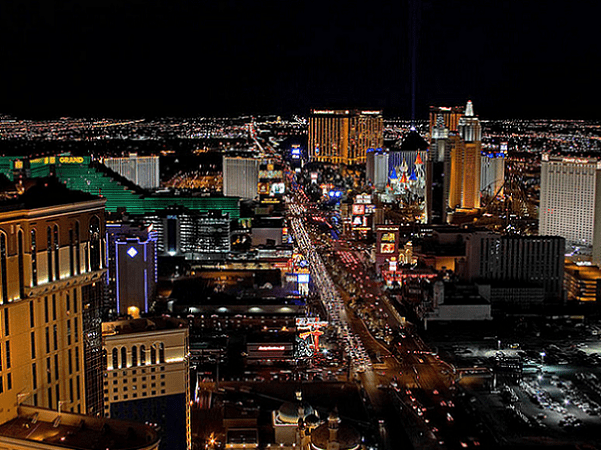 Photo: Las Vegas, Nevada. Credit: Jon Sullivan; Wikimedia Commons.