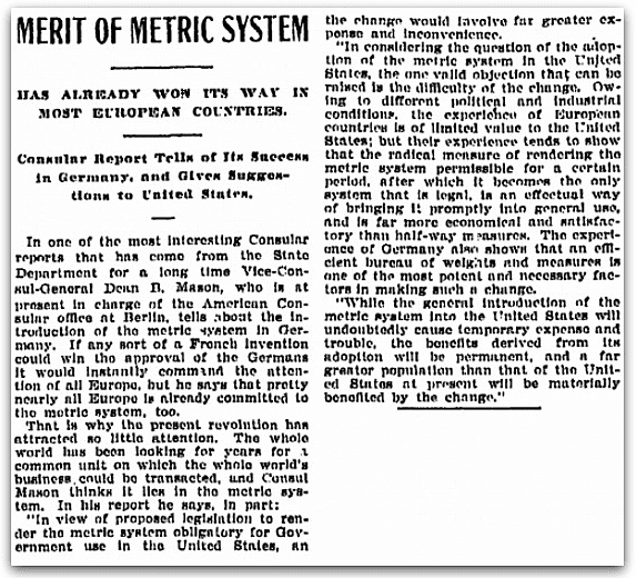 An article about Dean Mason, Oregonian newspaper article 29 January 1903