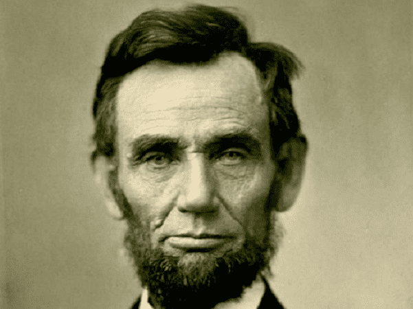 Photo: Abraham Lincoln, by Alexander Gardner, 8 November 1863. Credit: Mead Art Museum; Wikimedia Commons.oto: Abraham Lincoln, by Alexander Gardner, 8 November 1863. Credit: Mead Art Museum; Wikimedia Commons.