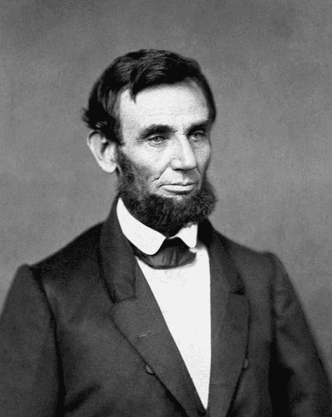 Photo: the earliest presidential portrait of Abraham Lincoln, between 1 March 1860 and 30 June 1860