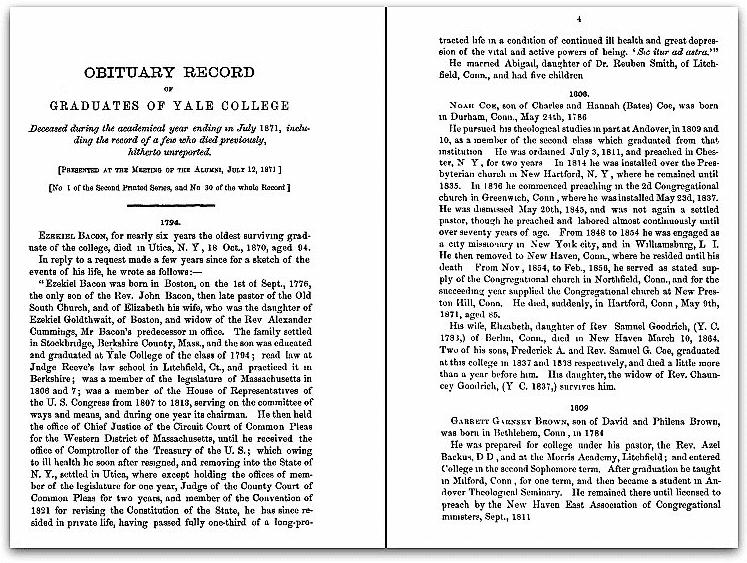 Photo: Yale Obituary Record, 1871