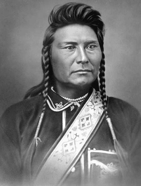Photo: Chief Joseph, taken in November 1877 by Orlando S. Goff