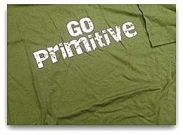 "Photo: the ""Go Primitive"" logo of the Primitive Methodist Church"