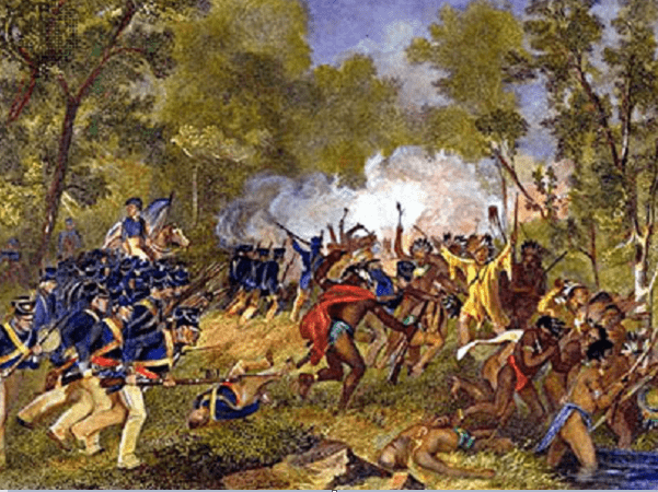 Illustration: Battle of Tippecanoe, by Alonzo Chappel, c. 1879. Credit: Wikimedia Commons.