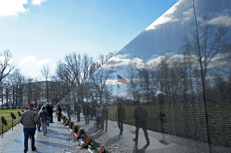 Photo: Vietnam Veterans Memorial Wall, National Mall, Washington, D.C.