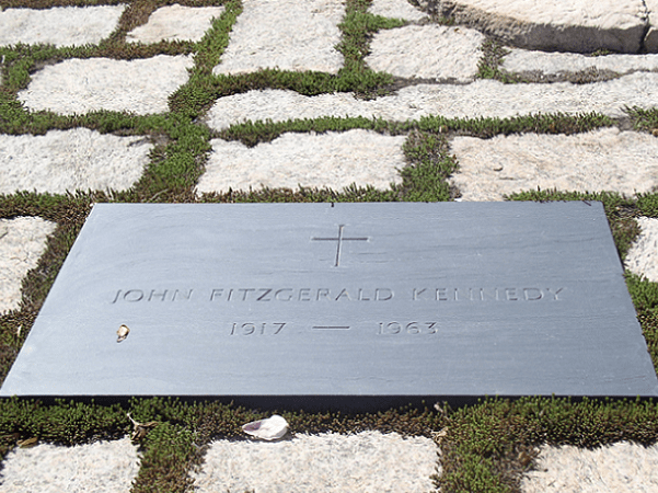 Photo: President John F. Kennedy's grave, Arlington National Cemetery, Virginia. Credit: Michelle J. Chappell-Norris.