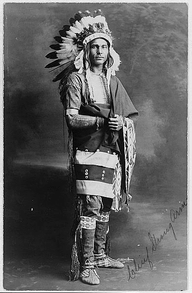 Photo: Chief Strong Arm, c. 1909