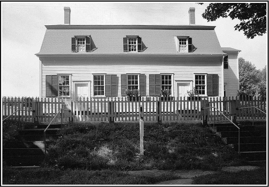 Photo: Shaker Meetinghouse, Sabbathday Lake Shaker Village, New Gloucester, Maine