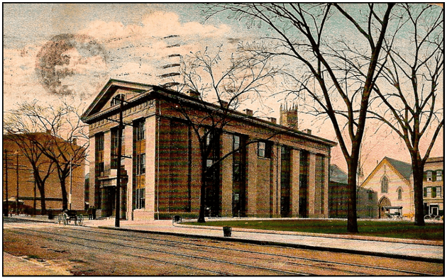 Illustration: Superior Courthouse, Bridgeport, Connecticut