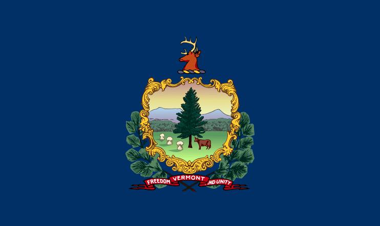 Illustration: Vermont state flag
