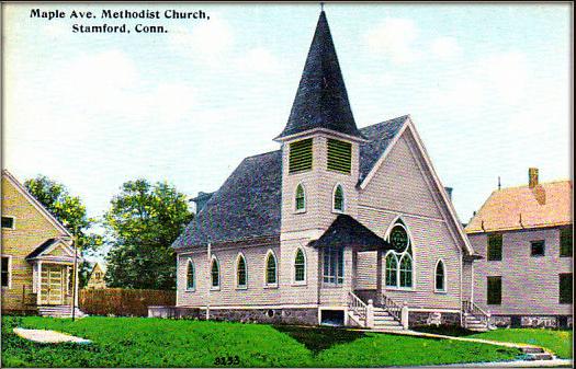 Photo: Maple Avenue Methodist Church, Stamford, Connecticut