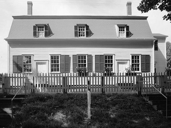 Photo: Meetinghouse, New Gloucester, Maine. Credit: Gerda Peterich; Library of Congress, Prints and Photographs Division.