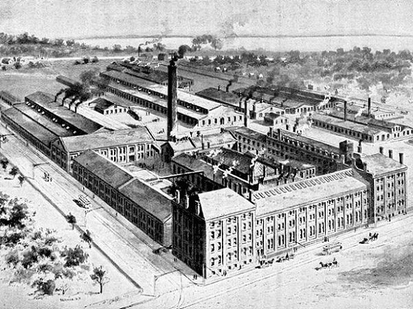 Illustration: Yale & Towne Manufacturing Co, 1897. Credit: Henry Roland; Wikimedia Commons.