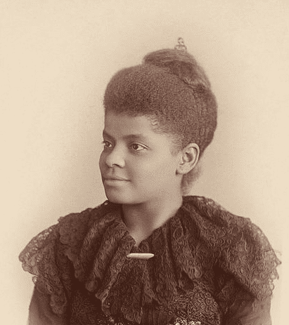 Photo: Ida B. Wells-Barnett, an African American journalist, newspaper editor, suffragist, and early leader in the Civil Rights Movement