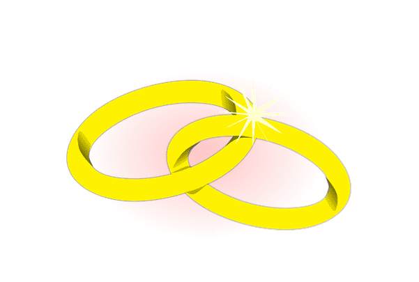 Illustration: wedding rings