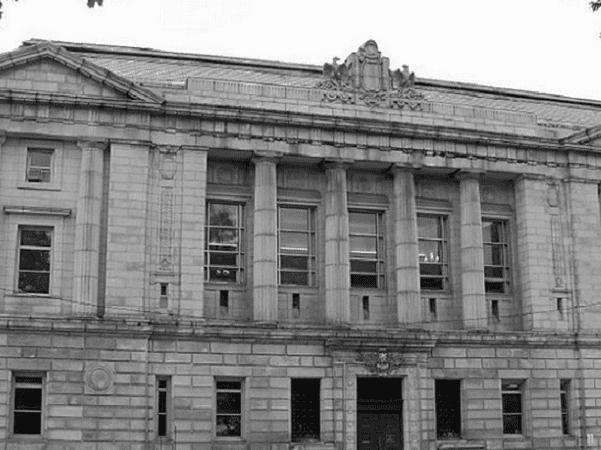 Photo: Cumberland County Courthouse, Maine. Credit: AlexiusHoratius; Wikimedia Commons.