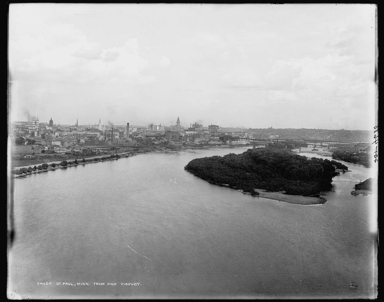 Photo: St. Paul, Minnesota, c. 1890
