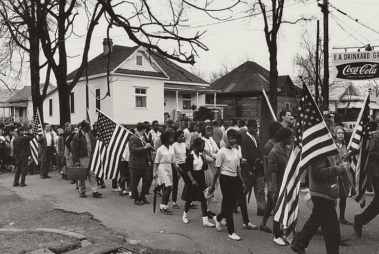 Photo: Selma-to-Montgomery Civil Rights March, 21 March 1965