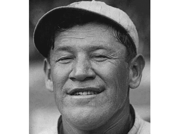 Photo: professional baseball player Jim Thorpe as a member of the New York Giants, c. 1913-15. Credit: The Sporting News; Wikimedia Commons.