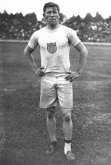 Photo: Jim Thorpe at the 1912 Summer Olympics