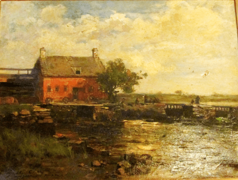 "Illustration: ""The Cove Mills,"" by Lyell Edwin Carr"