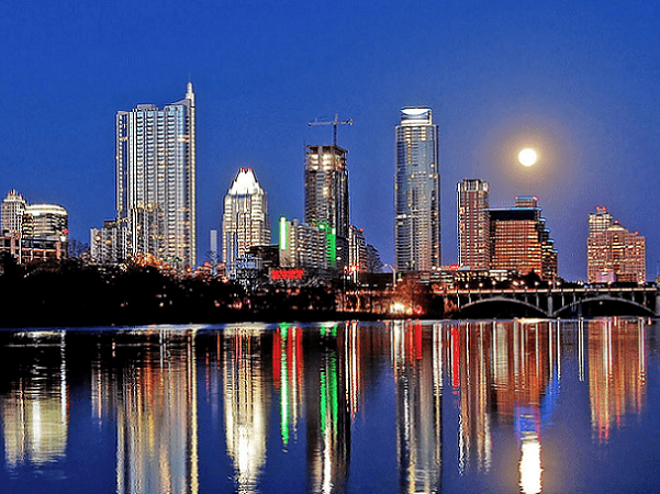 Photo: Austin, the capital of Texas. Credit: LoneStarMike; Wikimedia Commons.