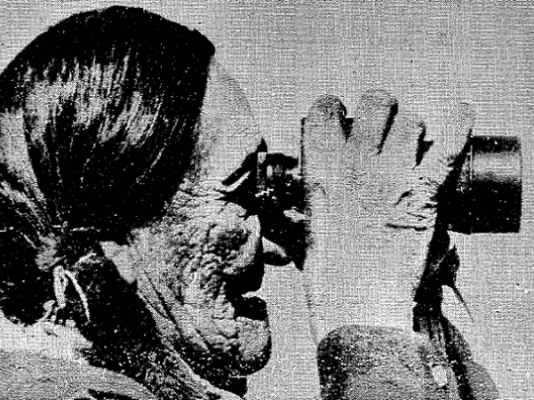 Photo caption: Sioux Chief Frank Fools Crow watches supporters of the American Indian Movement as they leave Wounded Knee, S.D. The chief aided in negotiations. Source: Evening Star (Washington, D.C.), 9 May 1973, page 4.