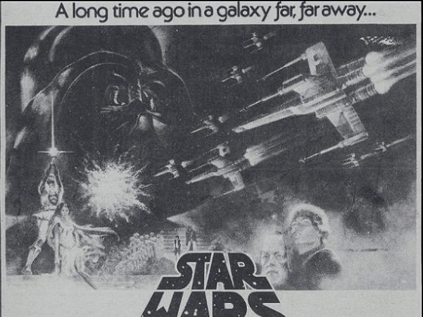 Star Wars ad, Daily Northwestern newspaper advertisement 13 May 1977