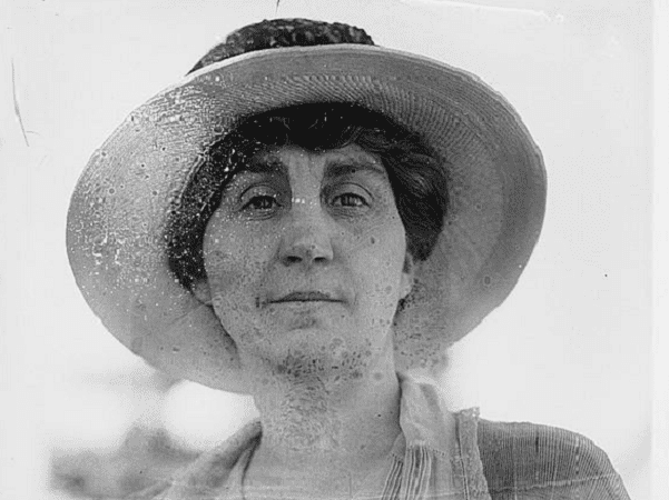 Photo: Mrs. Genevieve Allen, 22 June 1920. Credit: Library of Congress, Prints and Photographs Division.