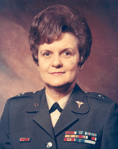 Photo: Brigadier General Anna Mae Hays