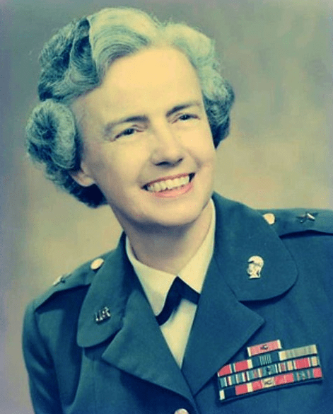 Photo: Brigadier General Elizabeth Paschel Hoisington