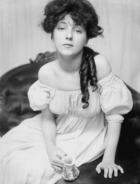 Photo: Evelyn Nesbit about 1900